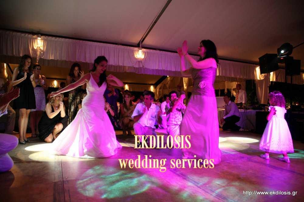 εκδήλωση γάμου στο NOTO finevents EKDILOSIS event production