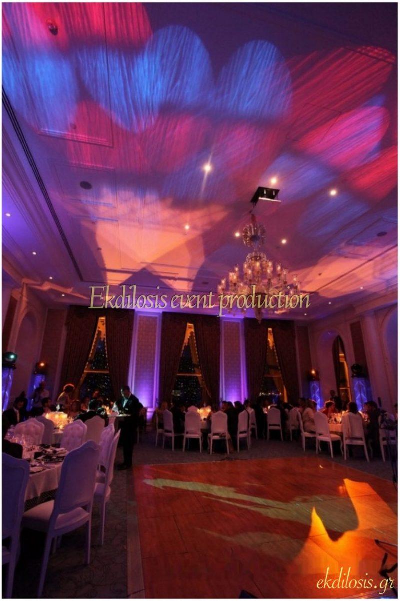 εκδήλωση στο Ciragan Palace Kempinski Istanbul από την Ekdilosis event production