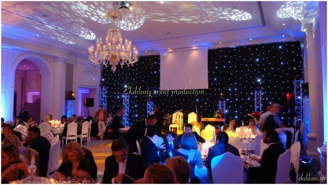εκδήλωση γάμου στο Ciragan Palace Kempinski Istanbul από την Ekdilosis event production