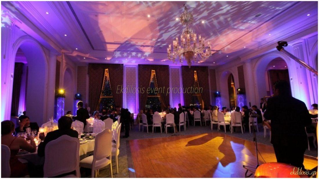 γαμήλια εκδήλωση στο Ciragan Palace Kempinski Istanbul από την Ekdilosis event production