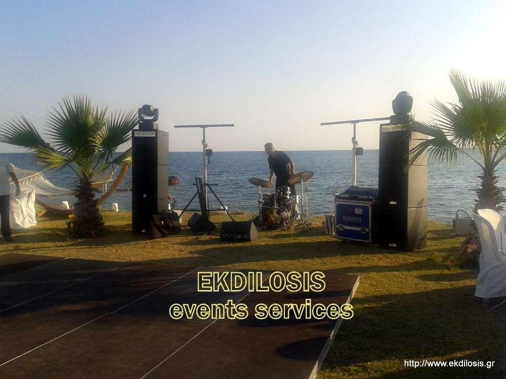 Ηχος εκδηλώσεων Θεσσαλονίκη