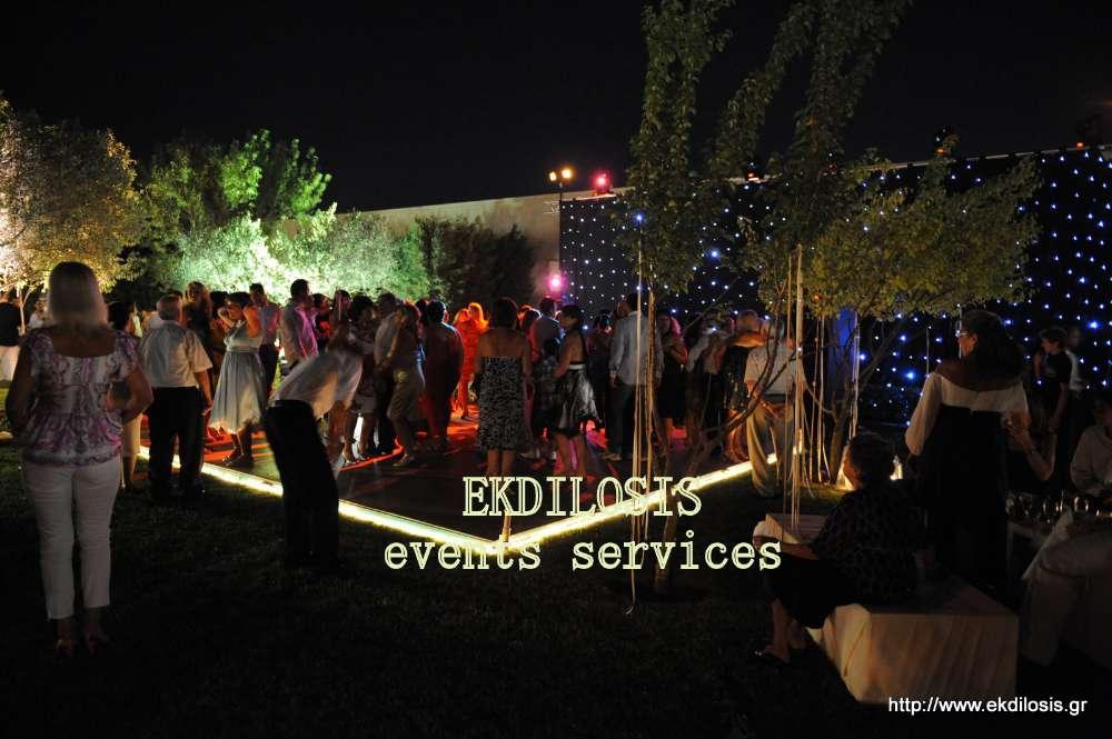 σκηνικά γαμήλιων εκδηλώσεων