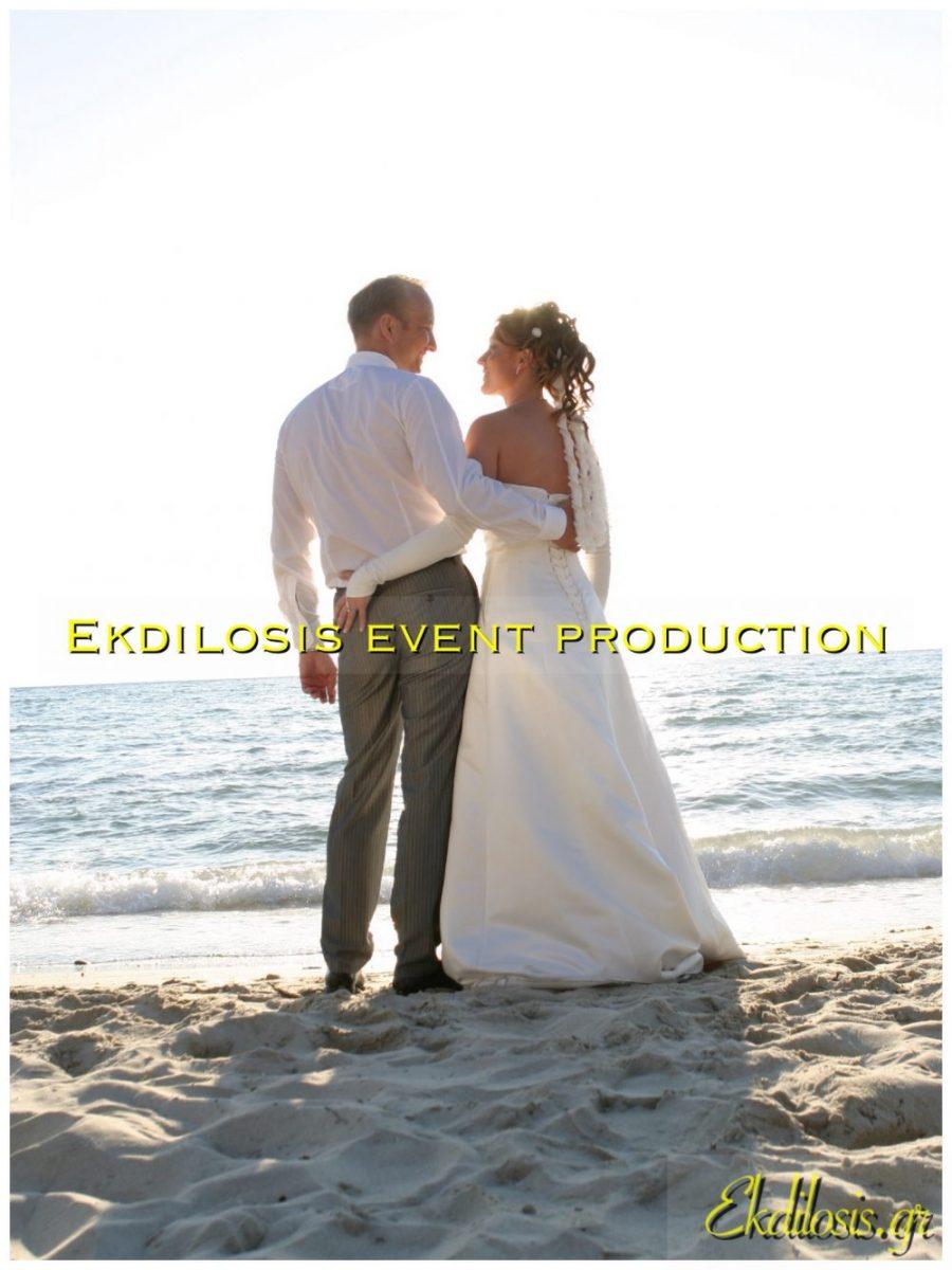 Σκηνικά δεξίωσης γάμου