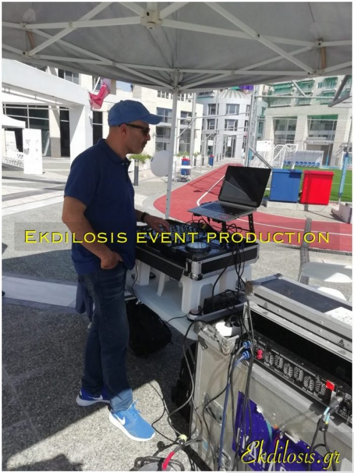 dj για πάρτι γάμων, μουσικών εκδηλώσεων της Ekdilosis event production