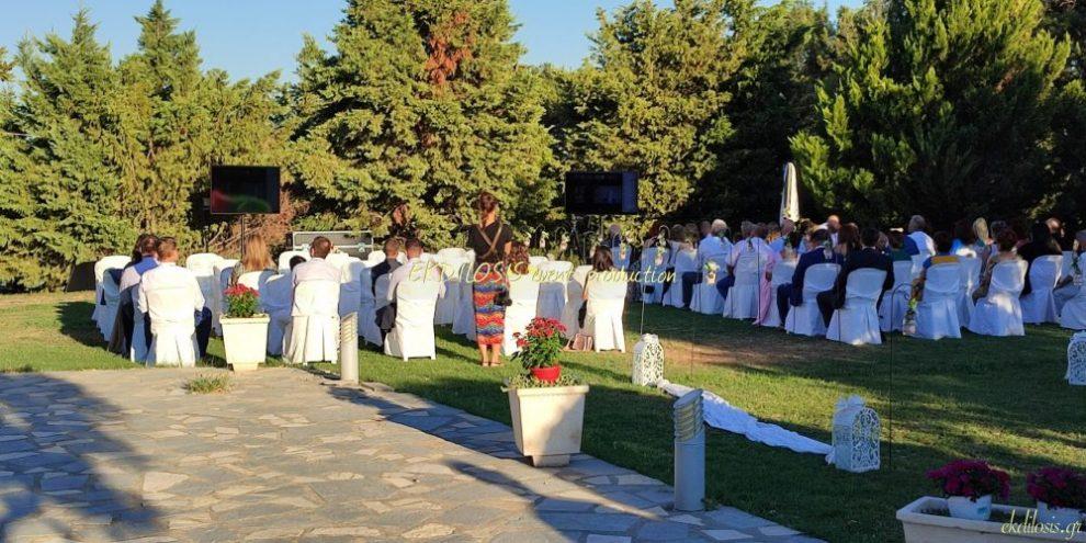 τηλεοράσεις γαμήλιων εκδηλώσεων από την EKDILOSIS event production